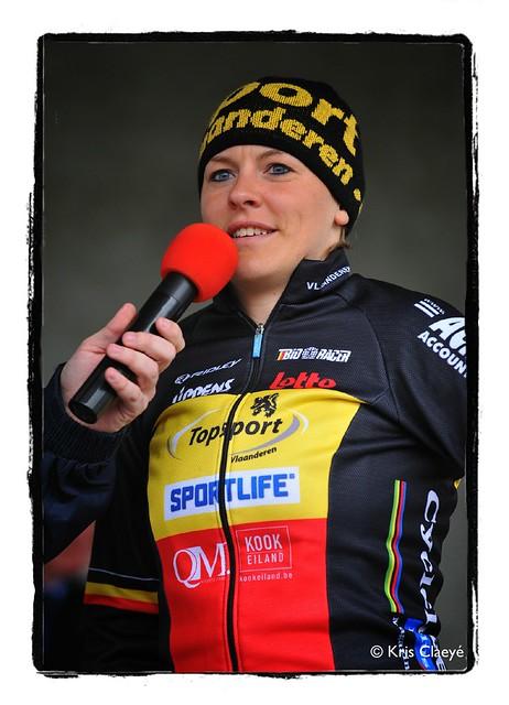 Liesbet De Vocht  @ Omloop het nieuwsblad - Portrets