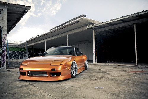 orange nissan 240sx 180sx import tuner magazine drift