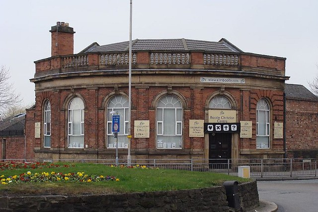 Former Midland Bank (early 1920s?), 443 Stanley Road, Bootle, Liverpool.