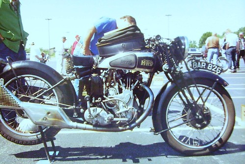 Vintage Motorcycle Show - College of DuPage
