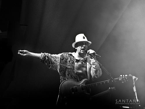 Carlos Santana @ Java Jazz Festival. Jakarta Indonesia
