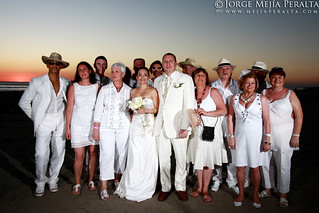 destination wedding party