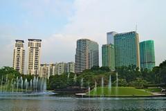 Kuala Lumpur City Center park