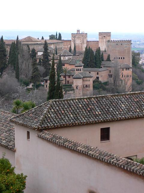 At the Alhambra in Granada