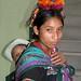 Mother with her child - Madre con su hijo; Joyabaj, El Quiché, Guatemala