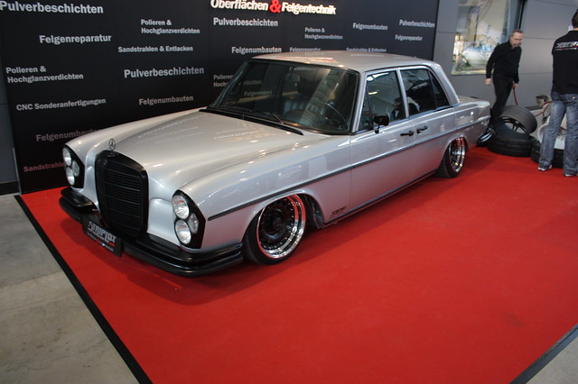 Mercedes w111 lowrider flickr photo sharing for Mercedes benz suicide doors