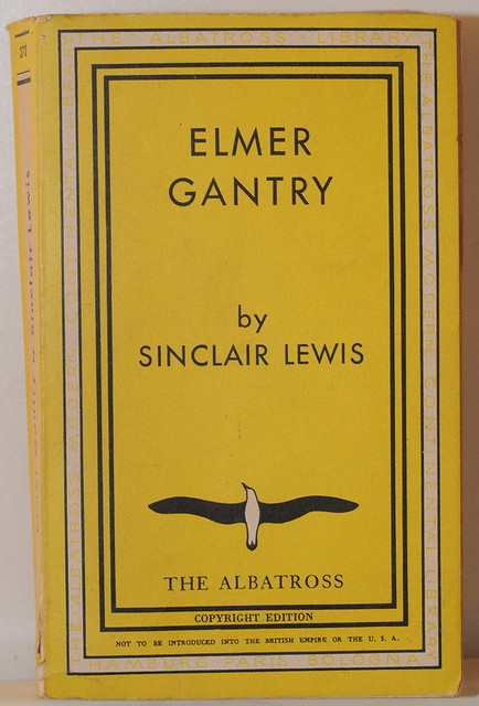 a study of the book elmer gantry by sinclair lewis Think of the elmer gantry novel as the unchristian of its day we ought to learn something from the discomfort these books cause us we ought to learn something from the discomfort these books.