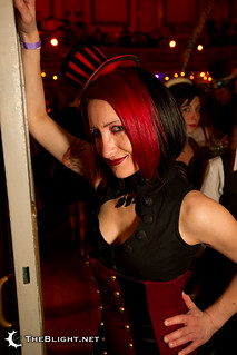 Jess at the Edwardian Ball 2011