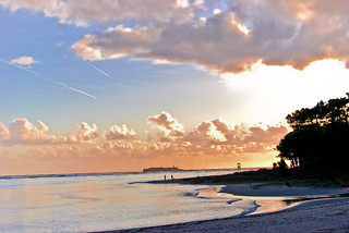 A Guarda: Camposancos beach.