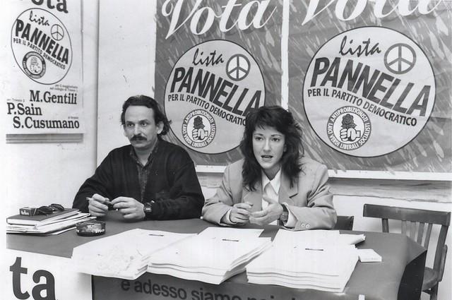 Marco Gentili e Paola Sain