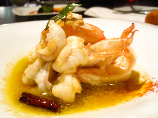 Sautéed shrimp garlic, guindilla pepper | Flickr - Photo Sharing!
