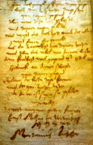 A Forgery of the 95 Theses
