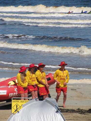 Lifesavers - Warrnambool Beach