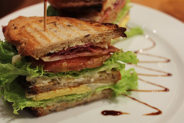 ... club sandwich classic club sandwich at house of blues new orleans