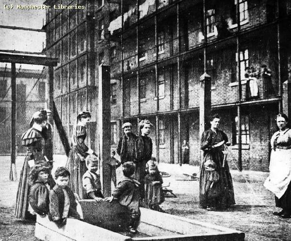 Jersey Dwellings, Ancoats, 1893