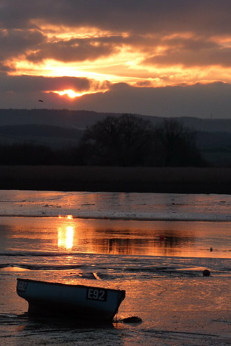 Devon Topsham Sunset