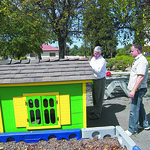 New playhouse for kids