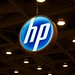 HP Logo at MacWorld 2011