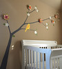 Nursery Tree Branch Mural