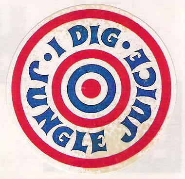 1970s Jungle Juice Sticker
