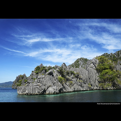 blue sea beach clouds island boat nikon paradise philippines snorkeling adventure nikkor coron myth pinoy hopping afs palawan 18105 d7000