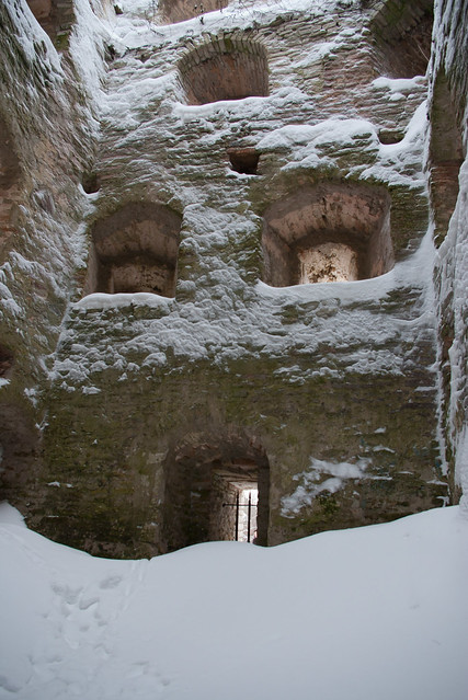 Башня крепости изнутри