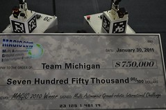 Michigan robotics team honored at international competition