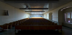 Humboldt University Lecture Hall. Berlin, Germany.