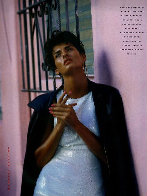 cuba 1989 Linda Evangelista