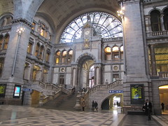 Train Station in Antwerp