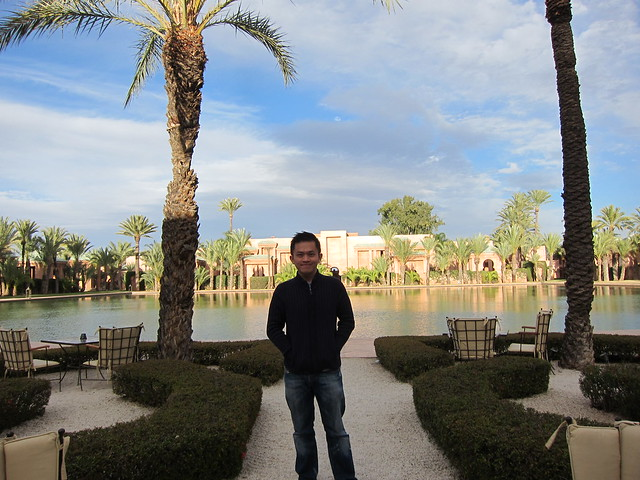 Hotel Amanjena @ Marrakech, Morocco