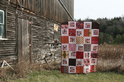 Rubik's Crush quilt