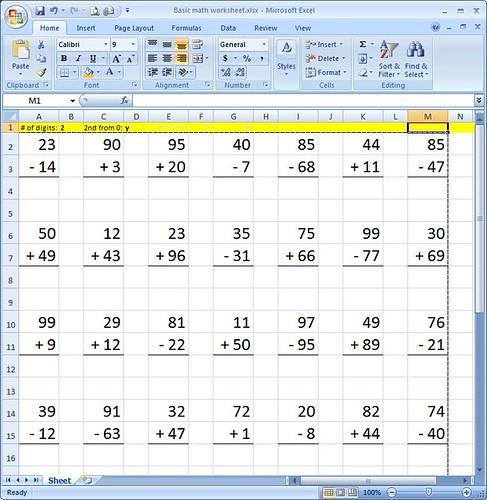 practice makes perfect basic algrebra spreadsheet programming web. Black Bedroom Furniture Sets. Home Design Ideas