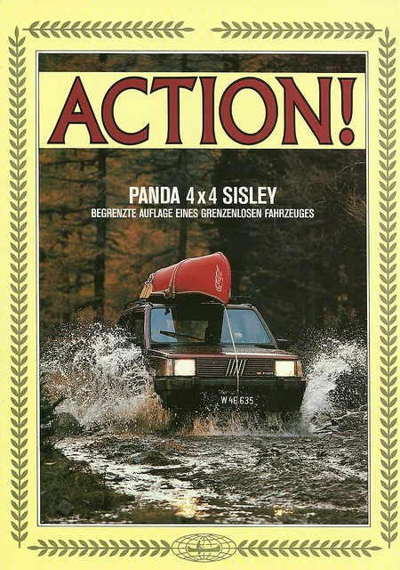 1987 fiat panda 4x4 sisley flickr photo sharing. Black Bedroom Furniture Sets. Home Design Ideas