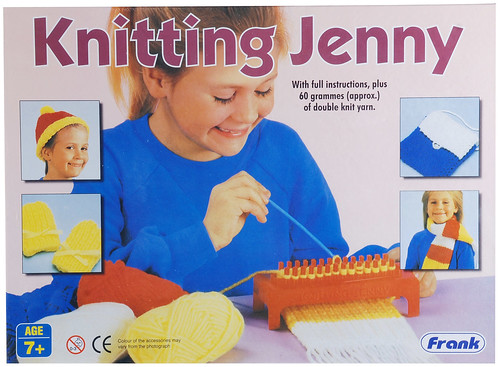 Knitting Jenny Basics : My first project the knitting jenny exchanging fire