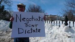 Negotiate don't dictate