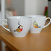 Birdies on Ikea cups by {JooJoo}