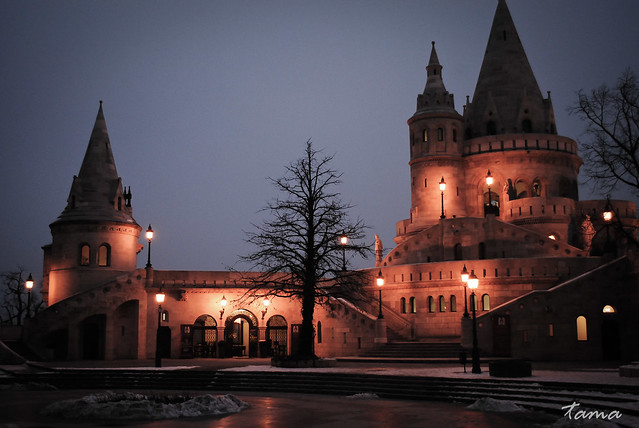 Fishermen's Bastion @ Buda Castle