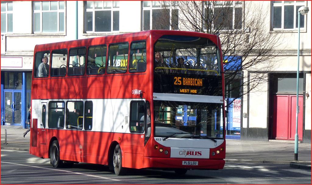 Plymouth Citybus 417 PL51LGU 12 February 2011