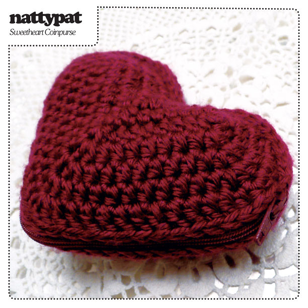 EASY: Crochet Pattern - Little Heart Plushy