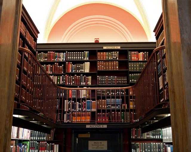 Library of Congress Bookshelves