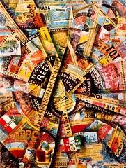 Carlo Carrá, Patriotic Celebration (Free Word Painting)
