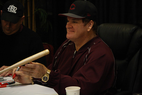 Pete Rose signing