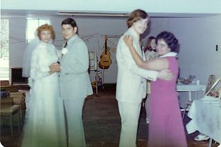 Harper wedding recep 1976