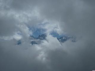 Fenêtre sur montagne
