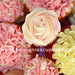 Cupcake Bouquet Closeup