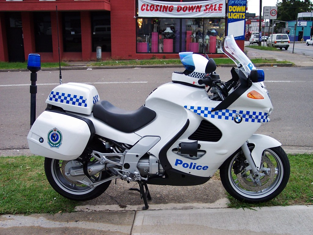 2003 BMW K1200 motorcycle - NSW Police