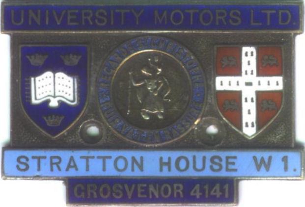 Triple M Register University Motors St Christopher 39 S Badge