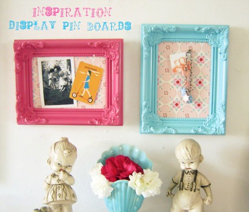 Candy Colored Display Pin Boards