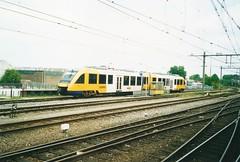 NL-Syntus0003 Treinstel 37 op de tankplaat in Zutphen